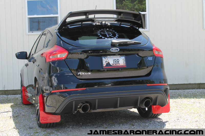 JB ARMOR Focus RS Mud Flap Kit - Click Image to Close