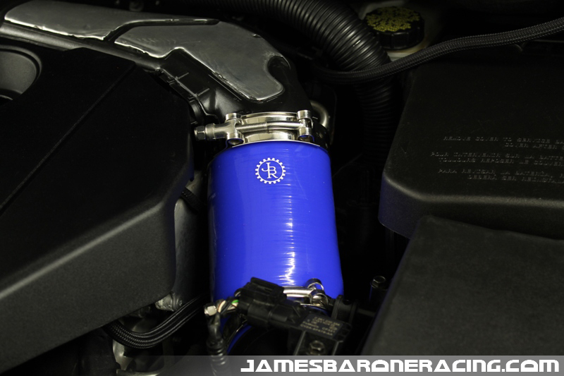 JBR Ford Focus ST Power Path Silicone Induction Hose - Click Image to Close